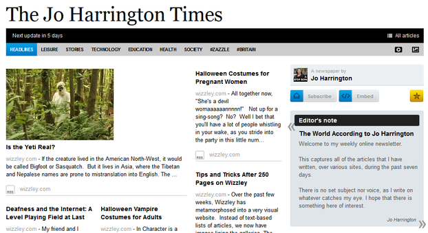 Image: The Jo Harrington Times Oct 3rd 2012