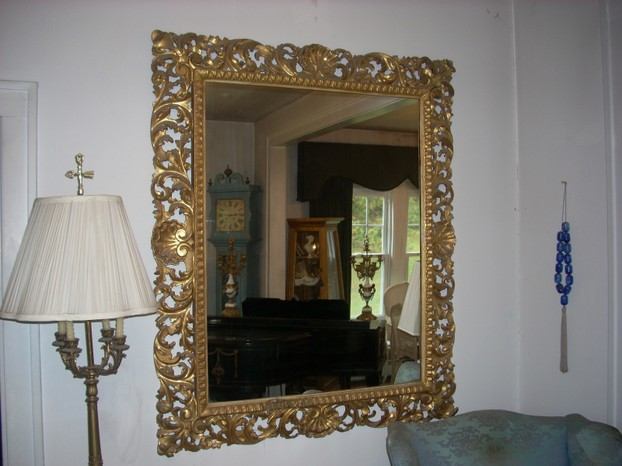 Antique Carved Gold Mirrors