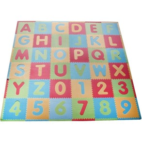 Alphabet and Numbers Play Mat