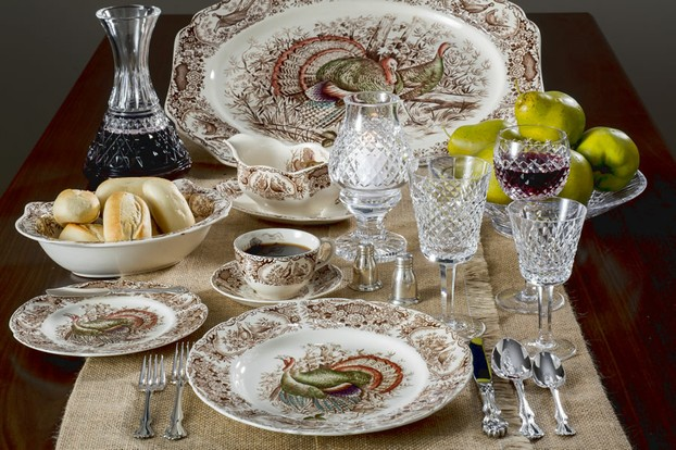 Set a Beautiful Thanksgiving Dinner with Johnson Bros. China