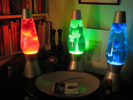 Lava Lamps Restored Already