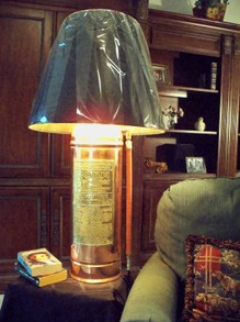 Antique Fyr Fyter Extinguisher Lamp