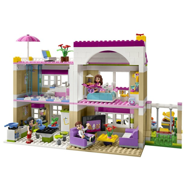 LEGO Friends - Breaking Down The Brick Walls With Legos For Girls