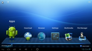 Uhost launcher screen 1