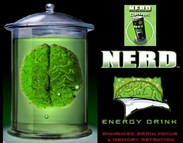 Nerd Energy Think Drink