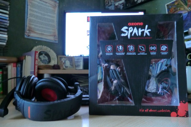 Image:  Ozone Spark Gaming Headset Boxed and Unboxed