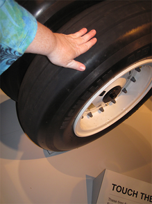 Space Shuttle Front Tire