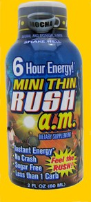 Mini Thin Rush Energy Drink