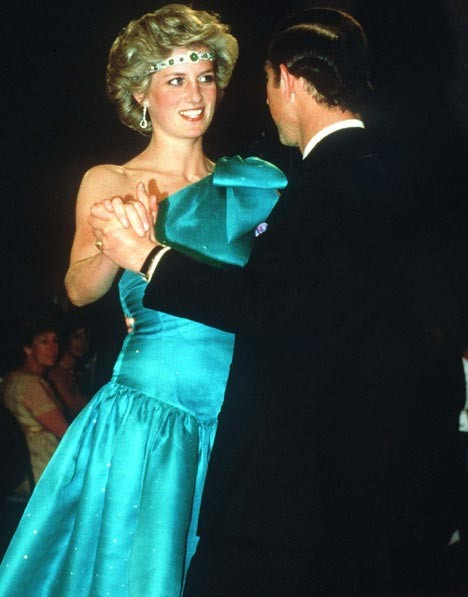 Princess Di in 1985.