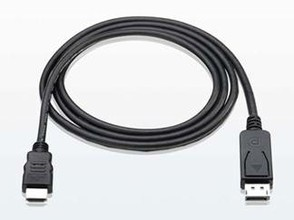 Displayport to HDMI cable