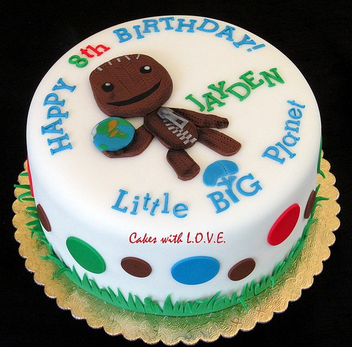 Little Big Planet Cake