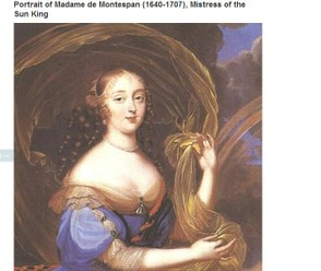 Portrait of Madame de Montespan (1640-1707), Mistress of the Sun King