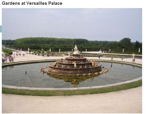Gardens at Versailles Palace