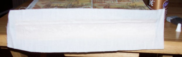 Muslin Glued on Spine