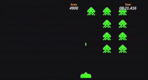 There's also Space Invaders!