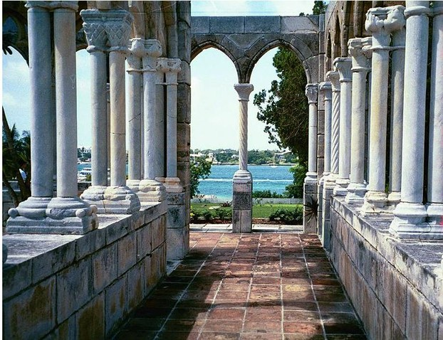 The Cloisters, Paradise Island. This is the ruins of a 14th century French monastry.