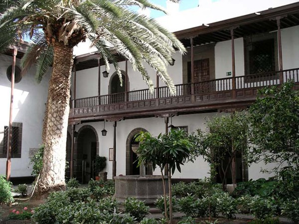 Patio of a colonial house in Gran Canaria