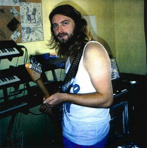 Mick Magic in the studio