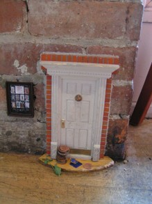 Fairy Door, Sweetwater Cafe, Ann Arbor MI