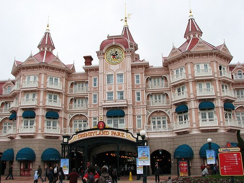 Disneyland Paris' impressive ticket gates