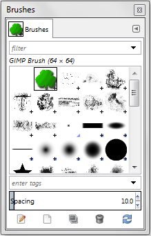 Brushes dialogue