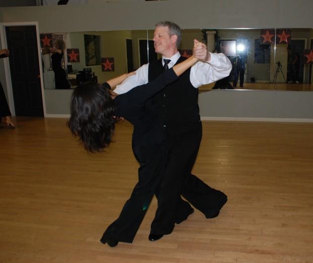 Learn basic couple dance steps
