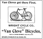 Van Cleve Advert