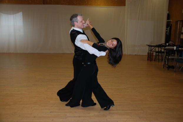 X on Foxtrot Dancers