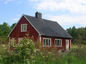 A summer cottage in Sweden