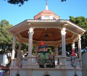 Bandstand in the Los Silos square