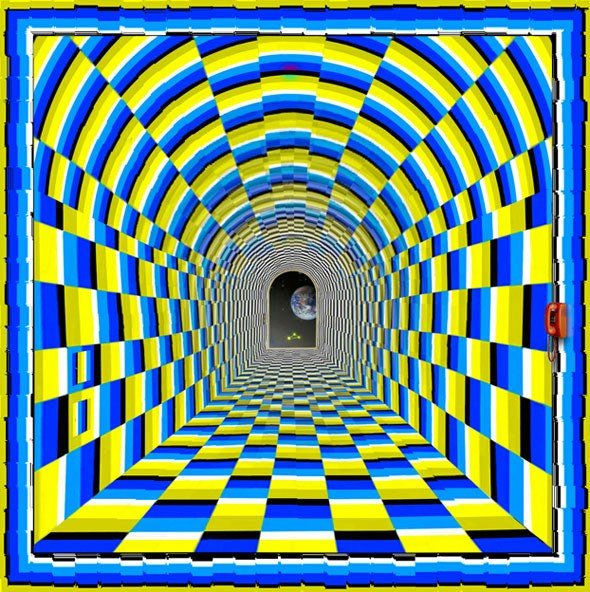This Picture Is Not Moving. Move Your Eyes For Some Great Depth Effects