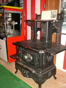 Vintage Stove at Culinary Arts Museum