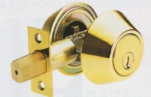 Polished Brass Deadlock
