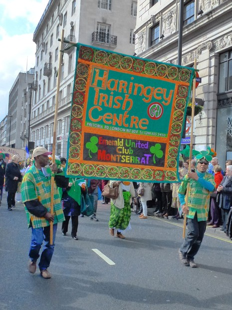 St Patrick's Day Parade, London