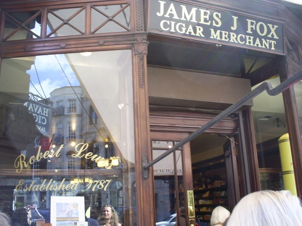 Fox of St James - Oscar's Tobacconist
