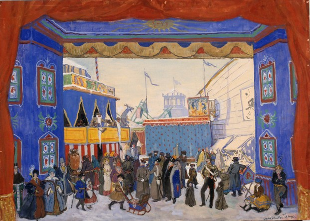 Benois' Set Design for 'Petrouchka@