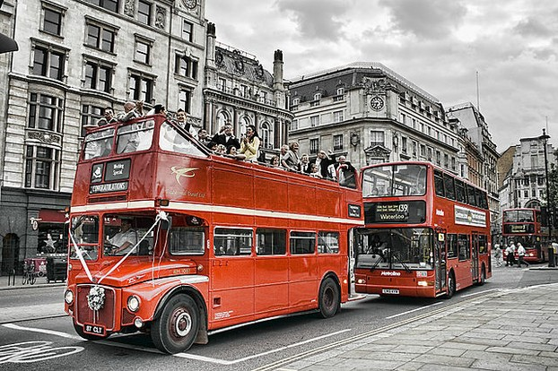 London Wedding Bus.