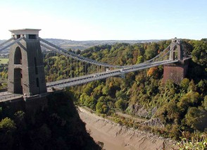 Clifton Bridge (completed after Isambard's death)