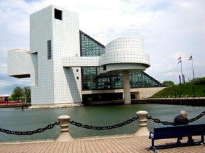 Outside Rock Hall on Lake Eire
