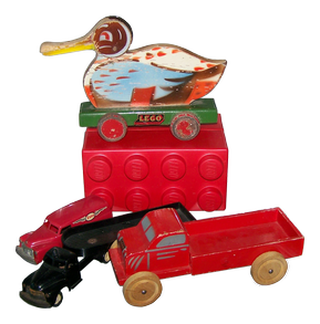 Early example of Lego toys