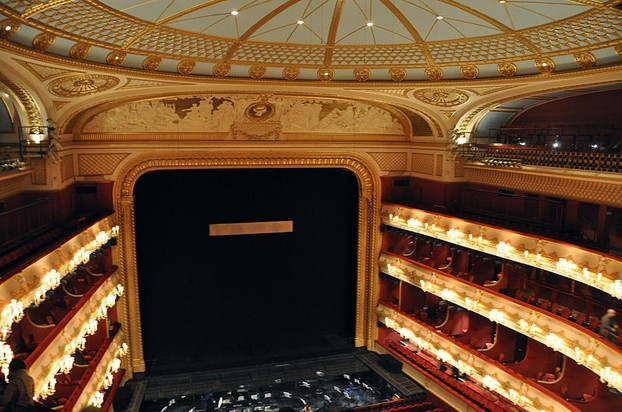 Auditorium, Royal Opera House, Covent Garden
