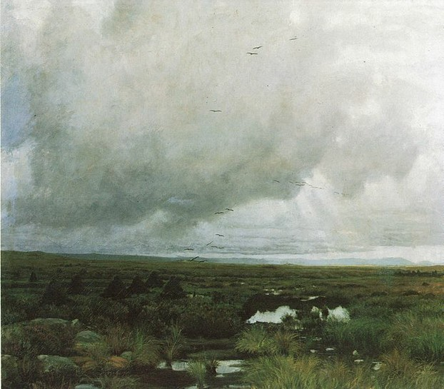 Peat Bog by Kitty Kielland