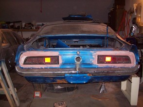 Torino Tail Lights on Ford Maverick