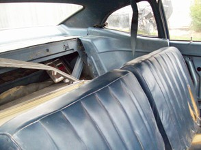 1970 Ford Maverick Split Bench Seat