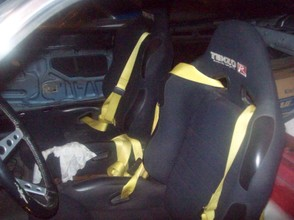 TenzoR Racing Seats Installed in 1970 Ford Maverick