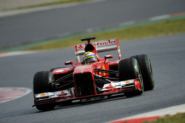 Felipe Massa finished fourth in Australia