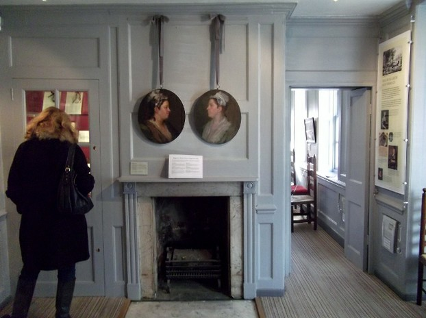 We went to Hogarth's House in Twickenham