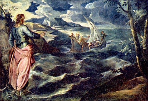 Christ Calms the Storm - Tintoretto