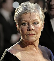 Judi Dench at the BAFTAs in 2007