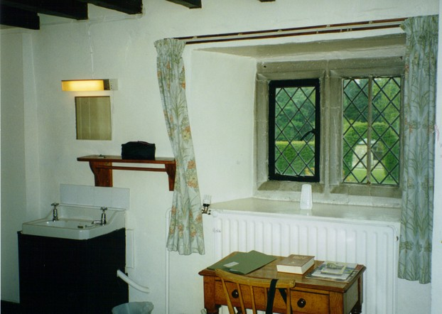 A Single Room at Aylesford Priory